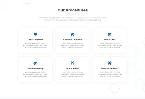 Print do site Consultório Dentário ou Clinica para Dentistas - Pagina Serviços