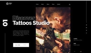 Print do Site para Estudio de Tatuagem - Página 2
