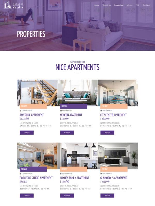 Print do site Corretor de Imóveis Fotos de Apartamentos
