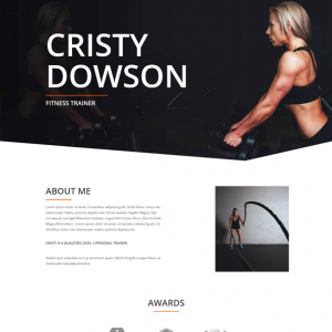 Site para Personal Trainer